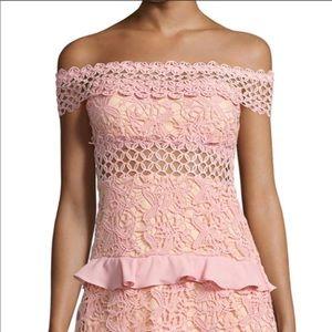 Brand New Lace Cutout Dress